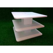 Квадратная подставка для капкейков и торта