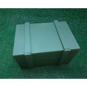 Подарочная коробка на 23 февраля зеленая