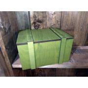 Подарочная коробка на 23 февраля хаки