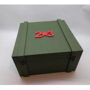 Большая коробка для подарка на 23 февраля
