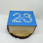 """Прямоугольная коробка для подарка """"23 февраля"""""""