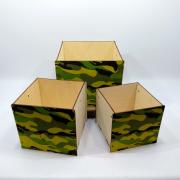 """Набор коробок для подарков """"Хаки"""""""