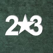 """Табличка в букет """"23"""""""