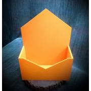 Ящик-конверт для цветов