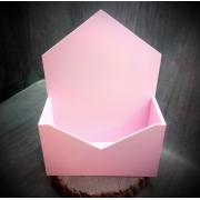 Ящик-конверт для цветов (модель два)