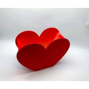 Деревянная коробка-сердечко