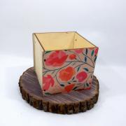 """Маленькая коробка для подарка """"Маки"""""""