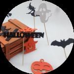 Топперы на  Хэллоуин купить оптом