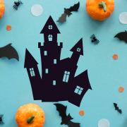 """Украшение на Хэллоуин """"Старый Замок"""""""