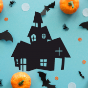 "Украшение на Хэллоуин ""Старая Церковь"""