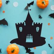 """Украшение на Хэллоуин """"Старая Крепость"""""""