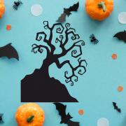 """Украшение на Хэллоуин """"Крючковатое Дерево"""""""