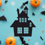"""Украшение на Хэллоуин """"Дом"""""""