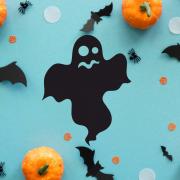 """Украшение на Хэллоуин """"Испуганное Привидение"""""""