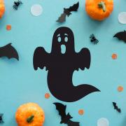 """Украшение на Хэллоуин """"Нестрашное Привидение"""""""