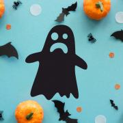 """Украшение на Хэллоуин """"Привидение"""""""