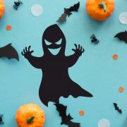 """Украшение на Хэллоуин """"Страшное Привидение"""""""