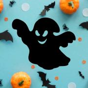 """Украшение на Хэллоуин """"Злое Привидение"""""""
