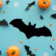 """Украшение на Хэллоуин """"Летучая Мышь"""""""