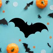 """Украшение на Хэллоуин """"Страшная Летучая Мышь"""""""