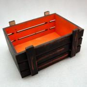 Винтажный черный ящик для подарков