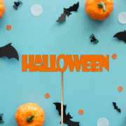 """Деревянный топпер """"Halloween"""""""