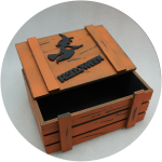 Коробка для подарков на Хэллоуин купить оптом
