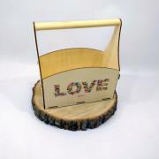 "Ящик для цветов ""LOVE"""