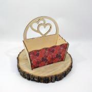"""Маленький ящик для цветов """"Любовь"""""""