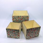 """Набор коробок для подарков """"Love"""""""