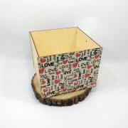 """Большая коробка для подарка """"Love"""""""