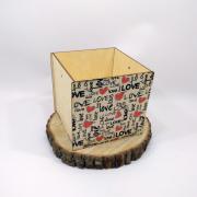 """Коробка для подарка """"Love"""""""