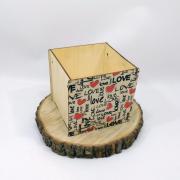 "Маленькая коробка для подарка ""Love"""