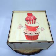 """Коробка-пенал для подарков """"Сладкая любовь"""""""
