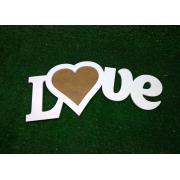 Деревянная фоторамка с сердечком