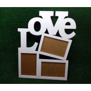 "Фоторамка ""LOVE"" квадратная"