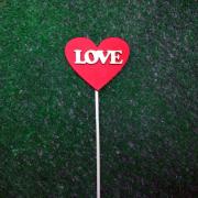 "Топпер в капкейки ""LOVE"""