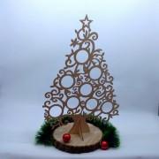 """Деревянная елка """"Новогодняя"""""""