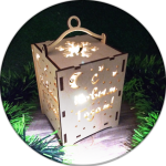 Новогодние сувениры из дерева оптом