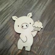 Заготовка свинья №14