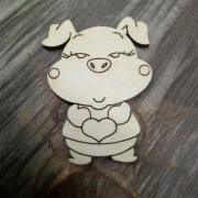 Заготовка свинья №15