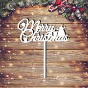 "Новогодний топпер ""Merry Christmas"""