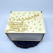 """Большая коробка для подарков """"Сказочного Нового года"""""""