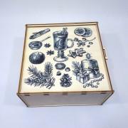 Коробка-пенал с рисунком на крышке