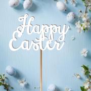 "Деревянный топпер ""Happy Easter"""