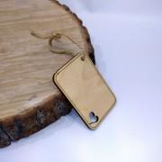 "Деревянная бирка на подарок ""Табличка"""