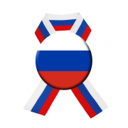 "Значок ""Флаг России"" на ленте"