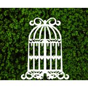Декоративная клетка с сердечками для фотозоны