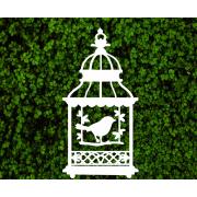 Декоративная клетка-пагода для фотозоны