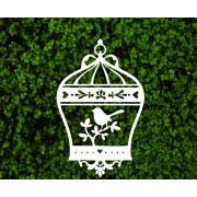 Декоративная шебби-клетка для фотозоны